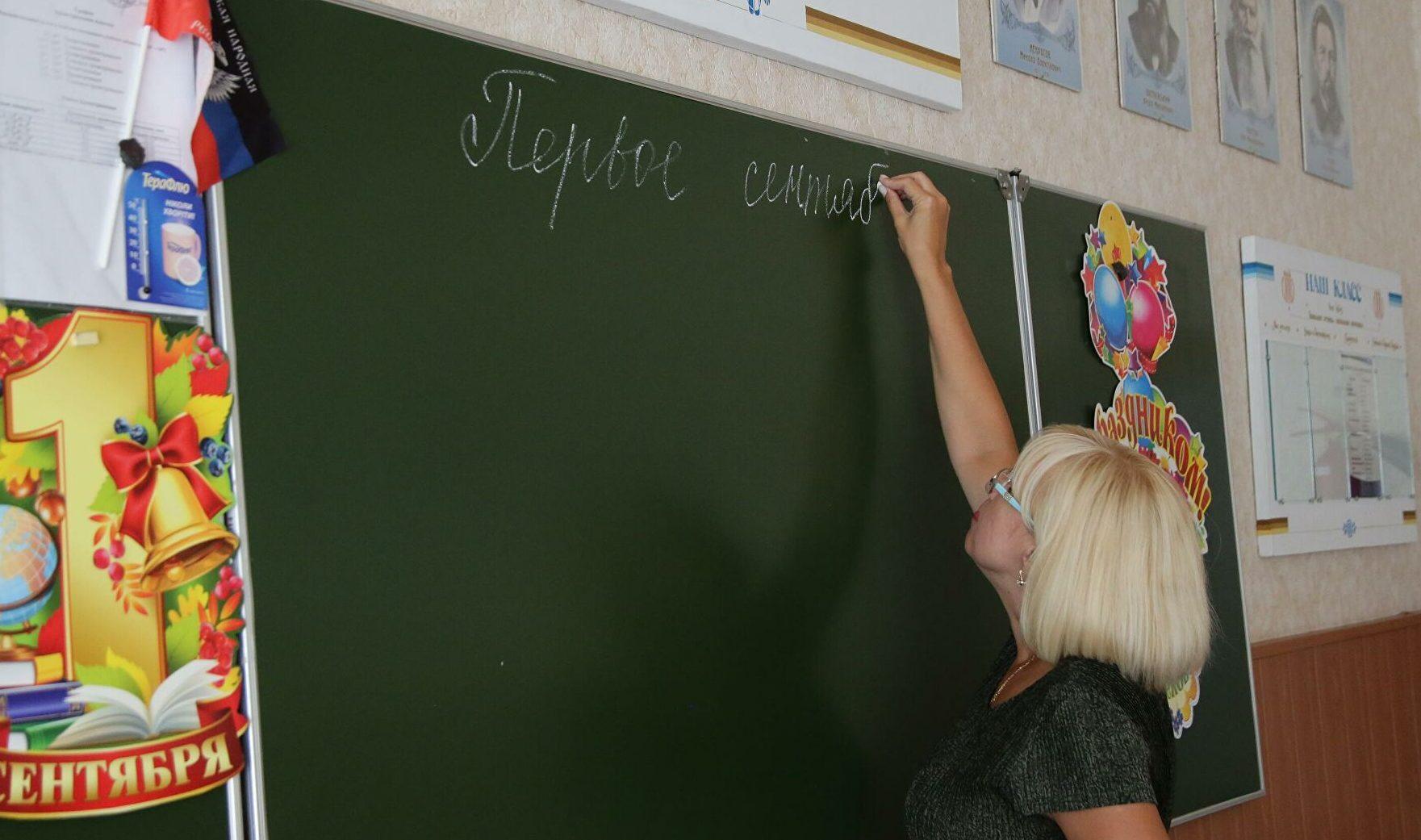 Класс в школе Краснодара обустроили в коридоре