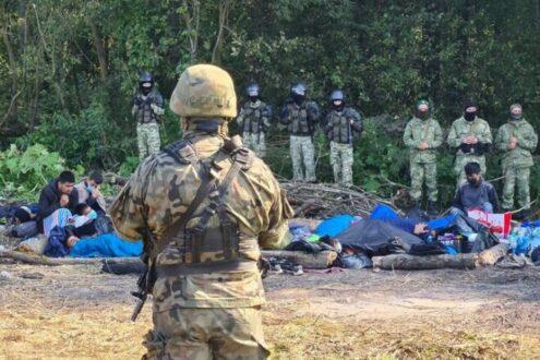 Патовая ситуация на границе между Польшей и Беларусью