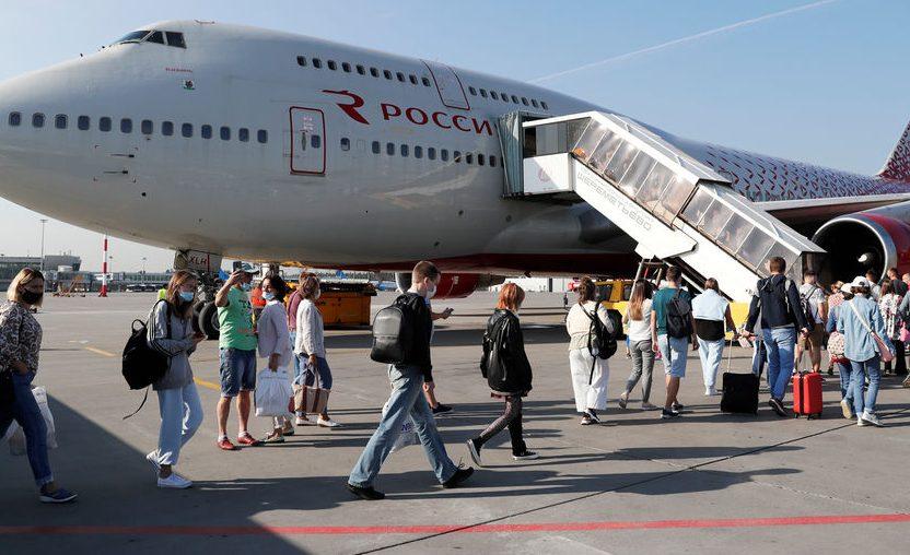 Первый российский самолёт прибыл в Хургаду впервые за 6 лет