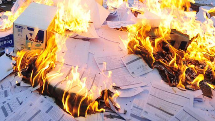 Посольство США в Кабуле начинает уничтожать секретные документы