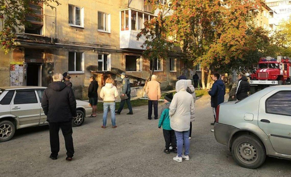 В квартире дома Свердловской области взорвался газ
