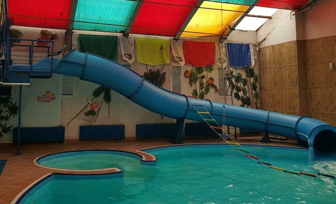 Дети посетили аквапарк в Таганроке. Шесть человек