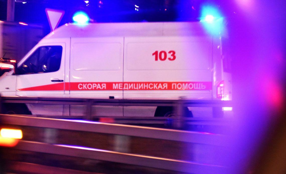 В Подмосковье упал вертолёт. Три человека погибли