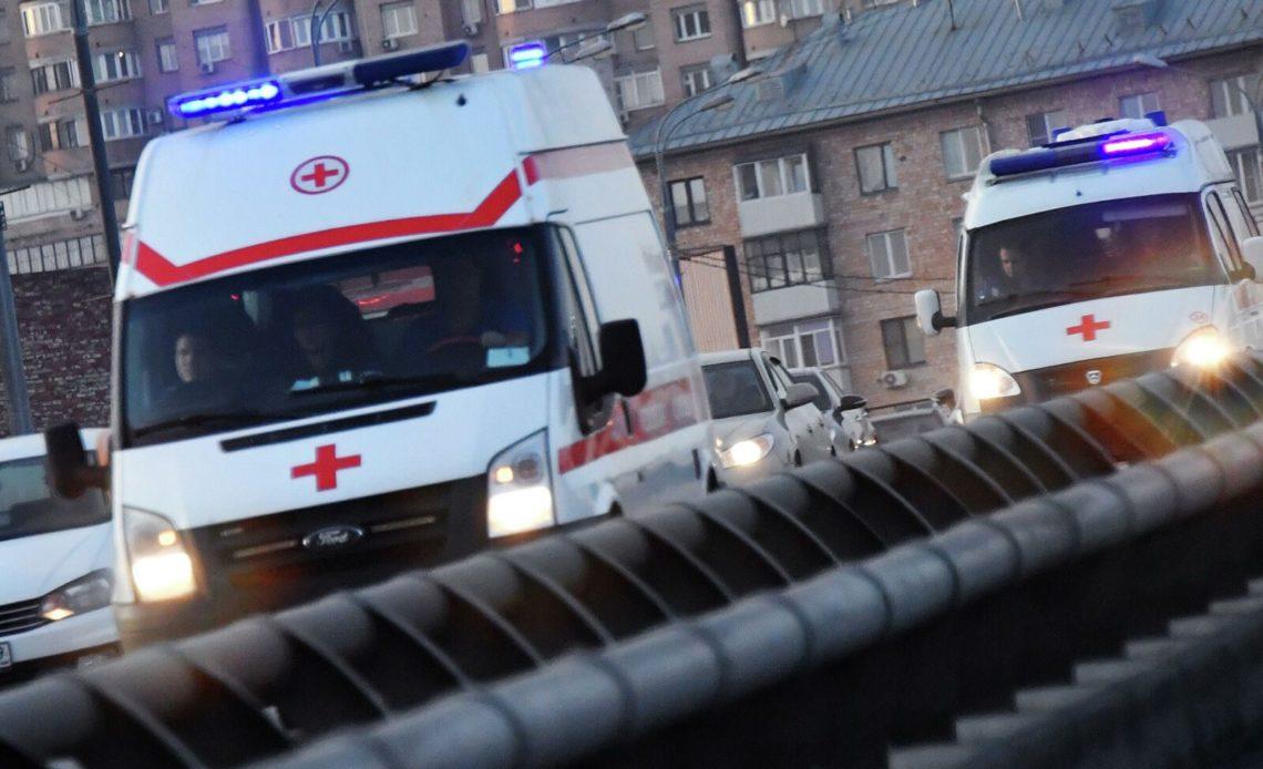 Массовое ДТП произошло в Москве. Столкнулись 6 автомобилей