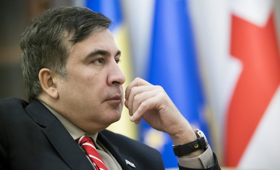 МИД Украины работает над возвращением Саакашвили