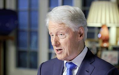 Бывшего президента США Билла Клинтона госпитализировали с заражением крови
