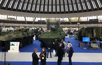 """ЦНИИ """"Буревестник"""" впервые представил боевые модули на сербском бронетранспортере"""
