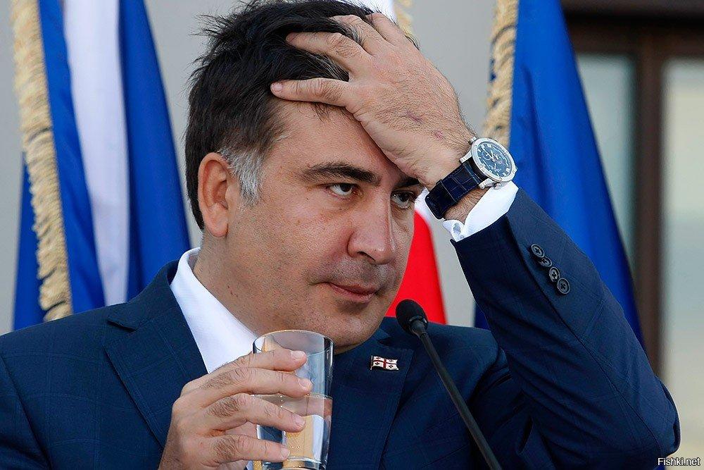 Экс-президент Саакашвили продолжает голодовку