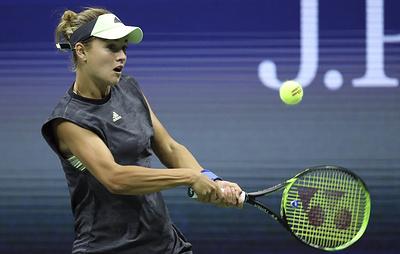 Калинская не сумела выйти в четвертьфинал теннисного турнира в Индиан-Уэллсе