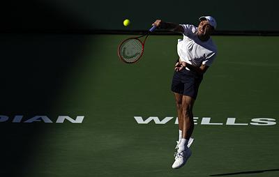 Карацев не сумел выйти в четвертьфинал теннисного турнира в Индиан-Уэллсе