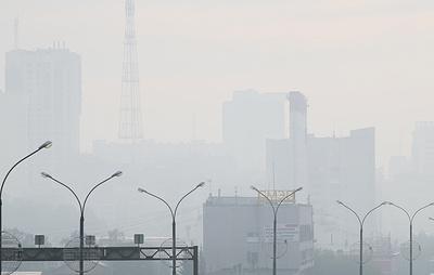 Концентрация вредных веществ превышена в затянутом смогом микрорайоне Екатеринбурга вдвое