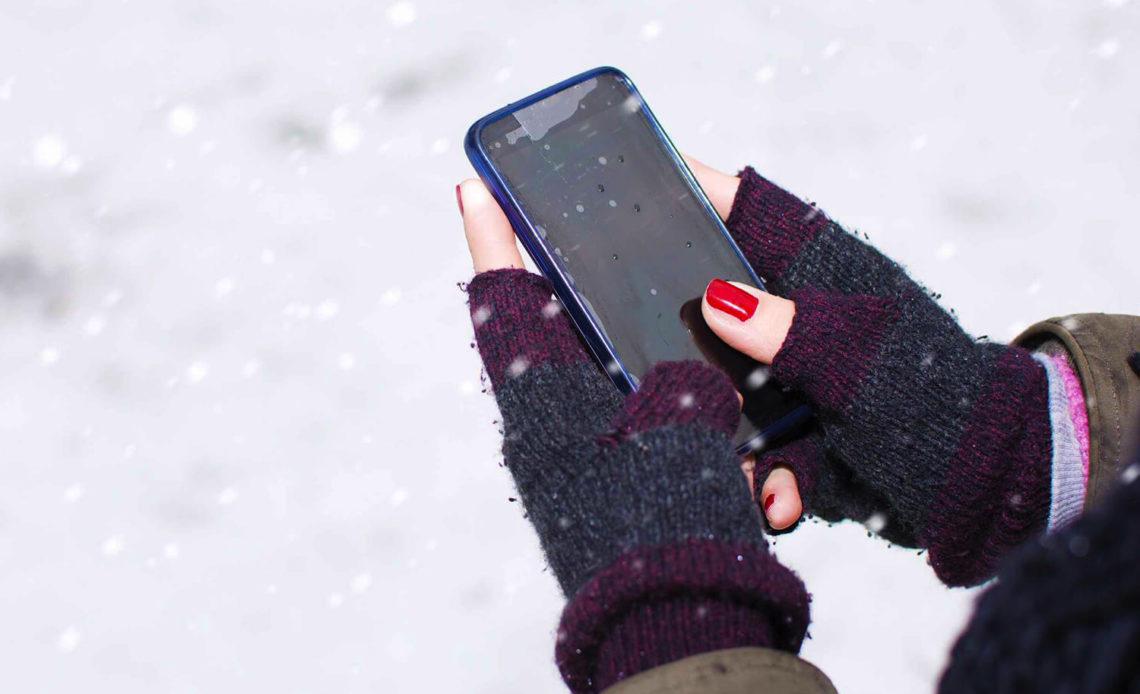 """Эксперт рассказал, что может """"убить"""" смартфон в холодное время"""