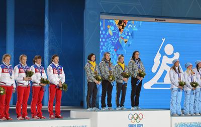 МОК объявил призеров Олимпиады в Сочи по биатлону после аннулирования результатов Зайцевой