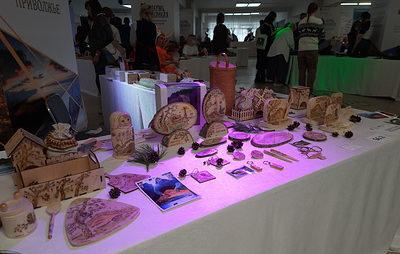 На выставке туристических сувениров в Перми свои изделия представили 12 регионов