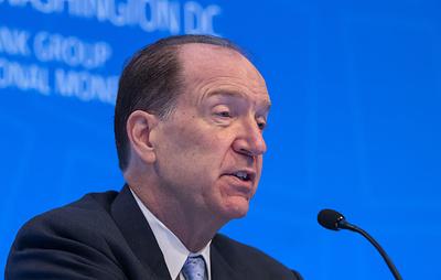 Президент ВБ назвал информативными прошедшие в Вашингтоне переговоры с вице-премьером РФ