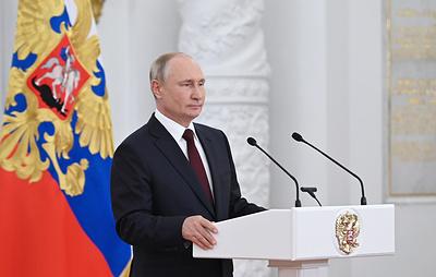 Путин указал на необходимость наращивать темпы вакцинации от ковида в России