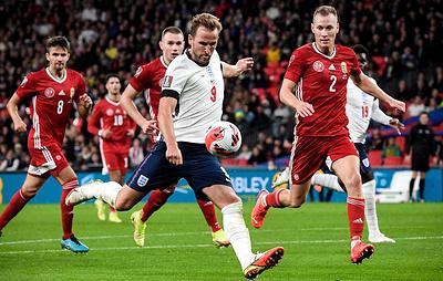 Сборные Англии и Венгрии сыграли вничью в отборочном матче чемпионата мира по футболу