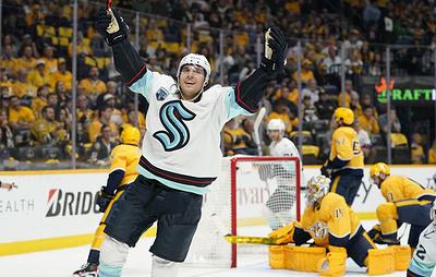 """""""Сиэтл"""" одержал свою первую победу в НХЛ"""