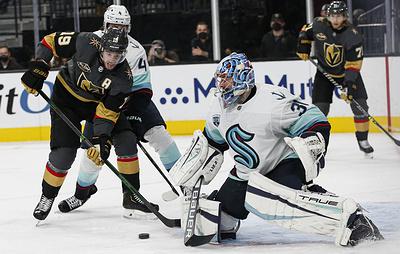 """""""Сиэтл"""" проиграл """"Вегасу"""" в своем первом матче в НХЛ"""