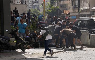 СМИ: три человека погибли в перестрелках в Бейруте