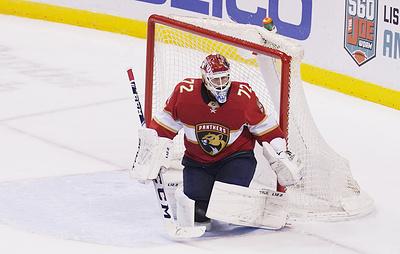 """Тренер """"Флориды"""" Кенневилль отметил игру вратаря Бобровского в матче НХЛ с """"Питтсбургом"""""""