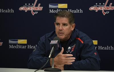 """Тренер """"Вашингтона"""" высказался о выходе Овечкина на пятое место в списке снайперов НХЛ"""