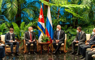 Вице-премьер России Борисов обсудил с президентом Кубы перспективы сотрудничества