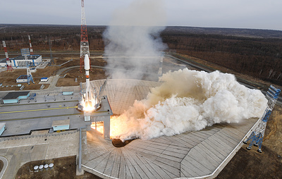 """Запуск ракеты """"Союз"""" со спутниками OneWeb. Видеотрансляция"""