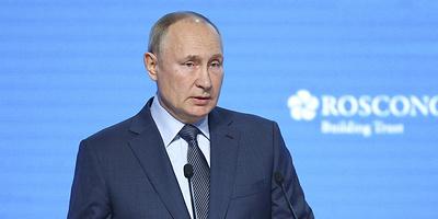 """""""Зеленая"""" ОПЕК+ и транзит через Украину. О чем говорил Путин на Российской энергонеделе"""