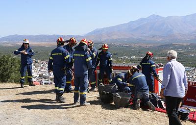 Землетрясение магнитудой 6,3 произошло около острова Крит